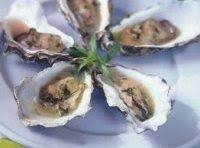 Champagne Oysters With Tarragon