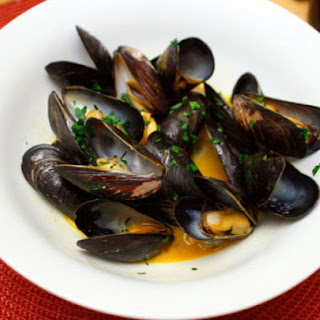 Mussels with Paprika.