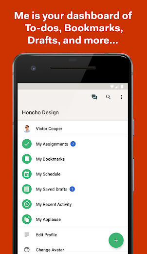 Screenshot 3 for Basecamp's Android app'