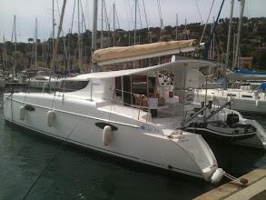 Photo: chase catamaran