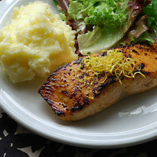 Spicy Lemon Maple Salmon