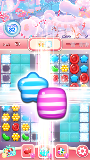 Crush the Candy: #1 Free Candy Puzzle Match 3 Game 1.0.5 screenshots 2