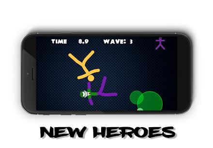 Stickman Warriors Online 2