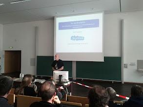Photo: Vortrag Kurt Gramlich #clt2013