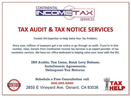 TAX AUDIT AND NOTICE SERVICES 805 205 5189