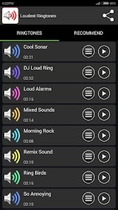 Loudest Ringtones screenshot 1
