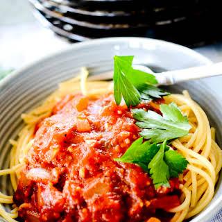 Low Sodium Spaghetti Sauce.