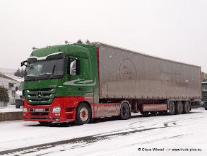 """Photo: ACTROS MP3 von Stefan Brombach im """"Salzkleid""""  ---> www.truck-pics.eu"""