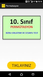 10. Sınıf Matematik Permütasyon Konu Anlatımı - náhled