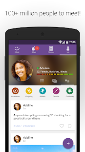 MeetMe: Chat & Meet New People- screenshot thumbnail