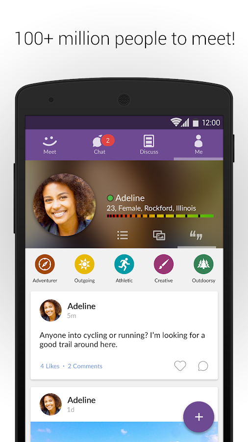MeetMe: Chat & Meet New People- screenshot