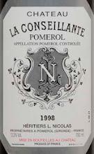 Photo: Chateau La Conseillante Pomerol: http://www.winecellarage.com/catalogsearch/result/index/?Search=Go&limit=all&q=conseillante