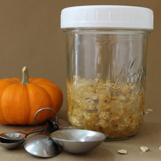 Pumpkin Spice Overnight Oats Recipe