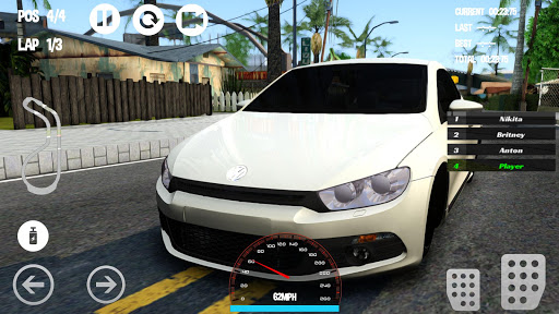 Car Racing Volkswagen Game 1.0 screenshots 4
