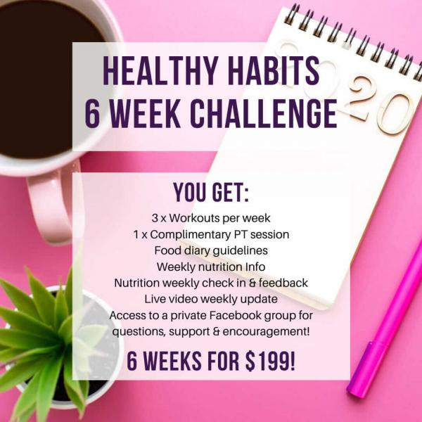 Amy's Healthy Habits Challenge