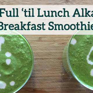 The Smoothie That Keeps You Going Until Lunch