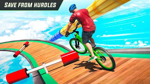Télécharger BMX Cycle Stunt Game: Mega Ramp Bicycle Racing mod apk screenshots 4