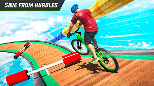 BMX Cycle Stunt Game: Mega Ramp Bicycle Racing modavailable screenshots 3