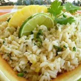 Pineapple-Lime Rice.