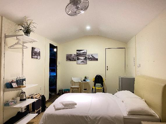 A picture containing indoor, wall, bed, ceilingDescription automatically generated