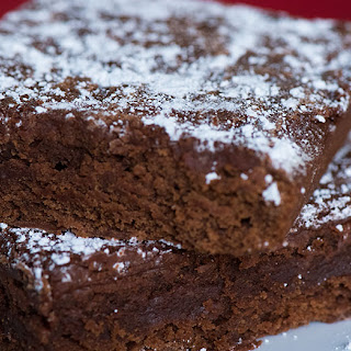 Classic Frosted Brownies.