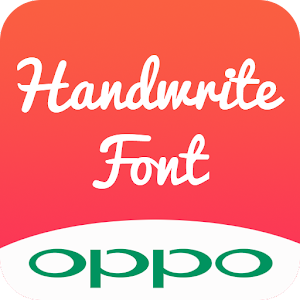 Handwrite Font for OPPO Phone