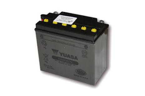 YUASA MC-batteri YB 16-B-CX utan syrapack