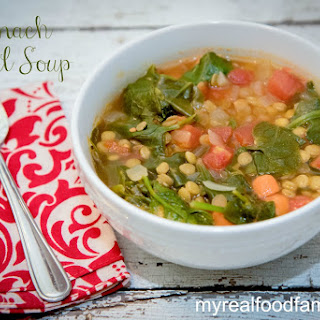 Spinach Lentil Soup