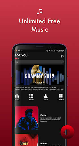 Screenshot for Music MAX - Online Music Player & Music Free in United States Play Store