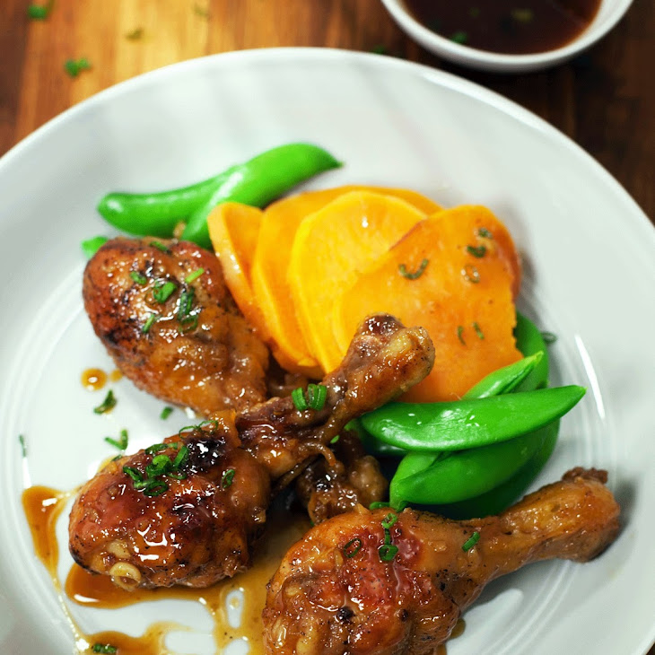 Roasted Chicken with Spicy Maple Glaze Recipe