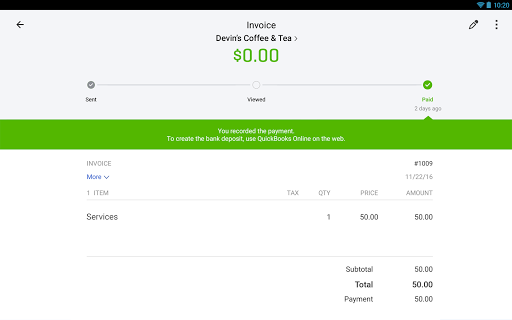 QuickBooks Accounting: Invoicing & Expenses 18.2 screenshots 11