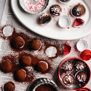 Dark Chocolate & Peppermint OREO Cookie Balls