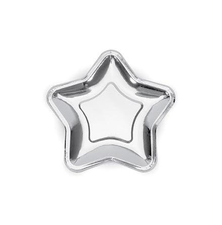 Assietter Stjärna, silver