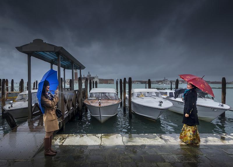 Pioggia a Venezia di Livius