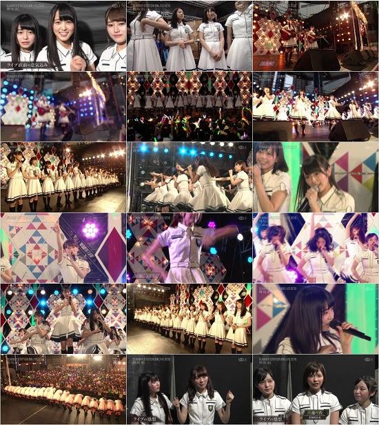 (TV-Music)(720p+1080i) 欅坂46 テレビ朝日・六本木ヒルズ 夏祭りSUMMER STATION 音楽ライブ 2016 161112