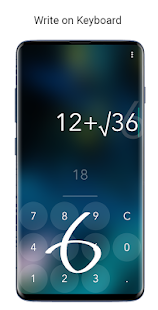 Calculator Touch - with Handwriting Recognition Screenshot