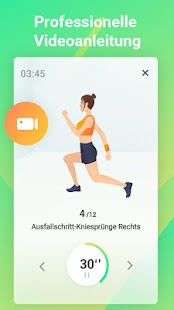 Easy Workout - HIIT Übungen, Bauch & Pofitness Screenshot