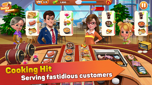 Cooking Hit - Chef Fever, Cooking Game Restaurant 2.0 de.gamequotes.net 1