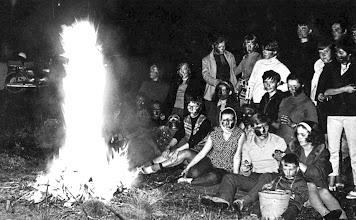 Photo: Wrzesień 1970 - ognisko klasy III (tkactwo)
