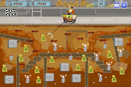 Gold Miner World Tour: Gold Rush Mining Adventure 3