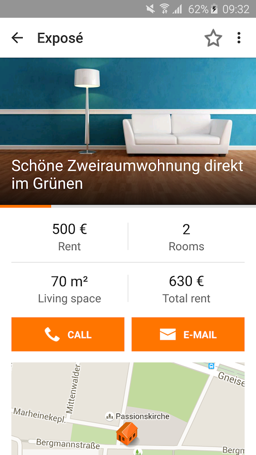Immobilien Scout24- screenshot