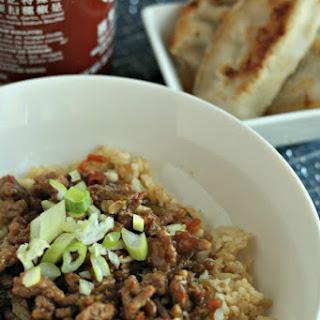 Korean Turkey Bowls w/ Brown Rice.