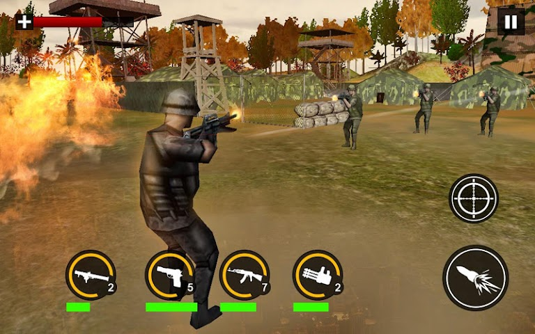 android Modern Commando Combat Shooter Screenshot 2