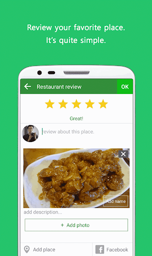 Foodfile - Food Review Share