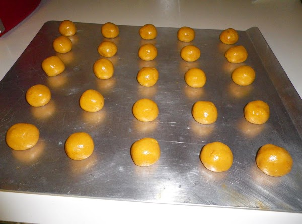 Preheat oven to 350 degrees.  Combine all inredients and mix well.  Drop...