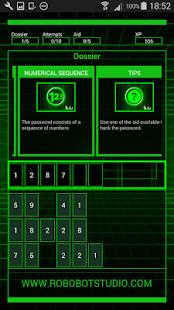 HackBot Hacking Game - náhled