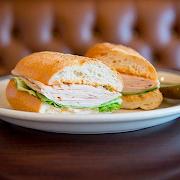 Turkey on French Roll (Full Sandwich)