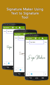 Signature Maker Real screenshot 2