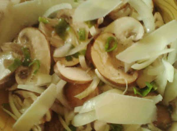 Lemon Fresh Mushroom Onion Salad Recipe