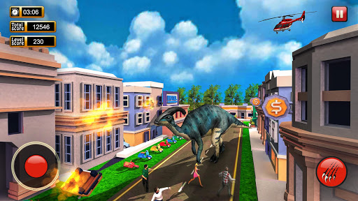 Monster Dinosaur Simulator: City Rampage screenshots 4